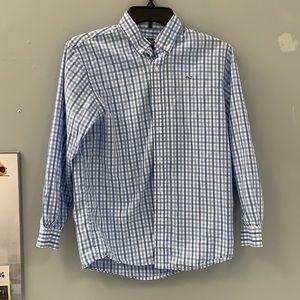 Vineyard Vines blue Plaid shirt